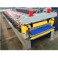Quality Corrugating Iron Roofing Sheet Making Machine Metal Roofing Equipment 8m/min - 12m/min wholesale