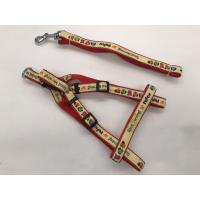China Fashionable Eco - Friendly Pet Dog Leash Harness 4-5mm Thickness on sale