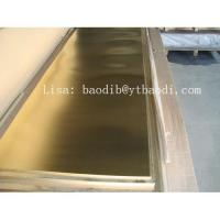 Quality Brass plate, sheet wholesale