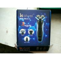 Quality KW-611-3 NEW 3 in 1 Exchangeable Shaver with Nose Hair Trimmer Kit wholesale
