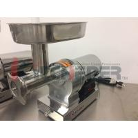 Quality Butcher Shop Industrial Heavy Duty Meat Grinder With Water Proof Switch wholesale