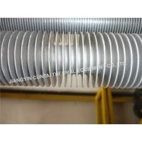 Quality Seamless Extruded Aluminium Finned Tubes For Industrial Air Heater / Air Cooler wholesale