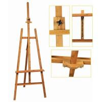 Quality Bamboo Adjustable Artist Painting Easel Tripod Stand For Painting OEM Avaliable wholesale