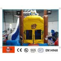 Quality Attractive Durable Indoor Inflatable Bouncy Castle With Mini Jumping Slide Inflatable Bouncy Castle wholesale