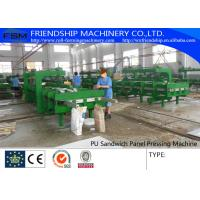 Quality Simple And Cheap Discontinous Type PU Sandwich Panel Production Line wholesale