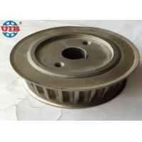 China Zinc Plated Transmission Components Galvanised Timing Belt Pulley 15*55*48mm on sale