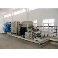 Quality Easy Operation Seawater Desalination Machine Low Energy Consumption wholesale