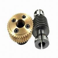 China Precision Worm and Worm Gear for Industrial Sewing Machines on sale