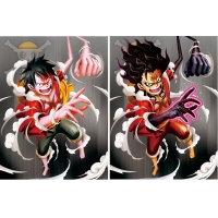 China PET Poster Anime ONE PIECE 3D Lenticular Printing Service on sale