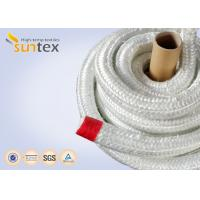 Quality Heat Insulation 550C Fiberglass Rope Gasket For Industrial Furnace Fireplaces wholesale
