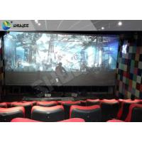 Quality 4D Ride Simulator Electronic System 4D Movie Theater With All Special Effects wholesale
