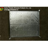 Quality Galvanized Metal Driveway Drainage Grates , Hinge Stainless Steel Grates For Driveways wholesale
