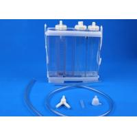 Chest Closed Wound Drainage System , Vac System Wound Care Wound Healing Clear