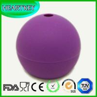 Quality Silicone Ice Ball Maker Mold Flexible Silicone Ice Tray Round Ice Ball Mold wholesale
