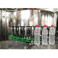 China Rotary 3 In 1 Full Automatic Water Bottle Filling Machine Wih Suction Cap on sale
