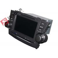 Cheap 2G RAM Toyota Highlander Dvd Player , 8 Inch Double Din Head Unit Support TPMS for sale
