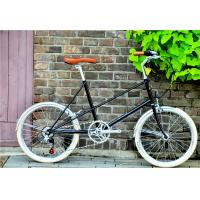 Quality Caliper brake black hi-ten steel  mini small 20 size old style city bike for lady with Shimano 6 speedmade in China wholesale