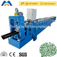 Quality Galvanized Metal Water Tube /Pipe/Gutter Roll Forming Machine 10m/min with CE wholesale