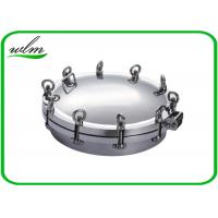 Quality Metal Stainless Steel Manhole Cover / Tank Manhole Cover For Pressure Vessel wholesale