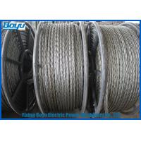 China High Voltage Transmission Line Pilot Wire 9 - 30mm 658kN T29 Corrosion Rust Proof on sale