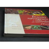 Quality Professional France Insects Hardcover Book Printing With Plastic Film wholesale