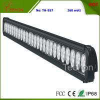 Quality 260W 43 Inch Single-Row LED Light Bar for Commercial Vehicles wholesale