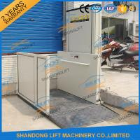 Quality 1m - 12m Hydraulic Stair Wheelchair Platform Lift For The Old People With CE wholesale