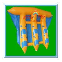 Quality Exciting PVC Inflatable Fly Fishing Boats Banana Shape for Water Park(CY-M2729) wholesale
