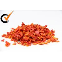 Quality None Additives Organic Air Dried Tomatoes Splice For Home Bright Red Color wholesale