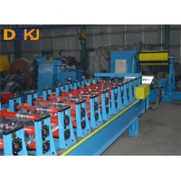 China 5 Ton Decoiler PLC 1.2mm GI Floor Deck Roll Forming Machineg on sale