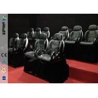 Quality Mini 7D Movie Theater, 6 / 9 / 12 / 18 / 24 Persons XD Motion Cinema With Flat Screen wholesale