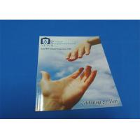 Quality 4 Color / 2 Color Printing Saddle Stitched Book Glossy Lamination For Entertainment wholesale