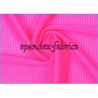 Quality 90 Nylon 10 Spandex 4 Way Stretch Mesh Swimwear Fabric for Undershirt / Bref wholesale
