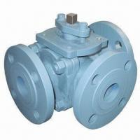 Quality Three-way Ball Valve (YD230T/YD230L), Seal Ring made of PTFE wholesale