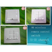 Quality 86 touch wireless remote control switch (1-3)channel to be selected wholesale