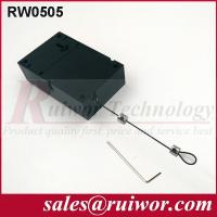 Quality Retail Stores Display Cell Phone Anti Theft Cable With Adjustable Loop End wholesale