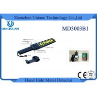 Quality Security Equipment Hand Held Metal Detector High Sensitivity for Stable Pin wholesale