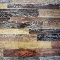 Buy cheap Comfortable Wood Grain Vinyl Flooring Wear Resistant With Pvc Film Layer from wholesalers