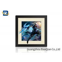 Quality Indoor Wall Art 5D Pictures Glossy / Matt / Offset Surface Effect No Harm Material wholesale