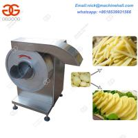 Quality Factory Potato Chips Cutter|Best Potato Cutter Machine|Vegetable Slicer and Cutter Machine for Sale wholesale