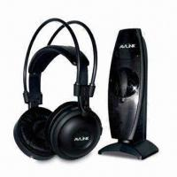 Quality UHF 915MHz Wireless Headphones with Built-in Battery and 40mm Mylar Speakers wholesale