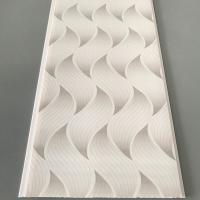 Quality Flat Pvc Panels For Ceiling , Waterproof Bathroom Ceiling Panels Brilliant Printing wholesale