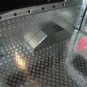 Quality Five Bar 5754 Aluminium Checker Plate Diamond Pattern Aluminum Sheet Anti - Skid wholesale