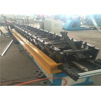 Buy cheap 7 Rolls Door Frame Roll Forming Machine , 20m/ min Steel Door Frame Machinery from wholesalers