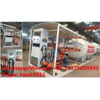 Quality China high quality and lower price 2.5tons-10tons mobile skid lpg gas refilling station with auto lpg gas dispenser(with wholesale