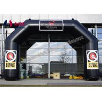 Quality Black PVC Inflatable Archway Zone Inflatable Entrance Arch Pumpkin Arch wholesale