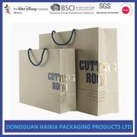 Quality New Design Kraft Paper Shopping Bags Screen Printing HEIDEL With Handle wholesale