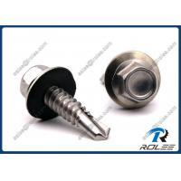 Quality 410 Stainless Hex Washer Head Self-drilling Roofing Screw w/ EPDM Sealing Washer wholesale