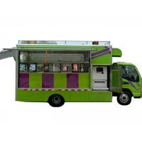 Quality JAC Multi Function Mobile Kitchen Truck / Movable Food Catering Truck wholesale