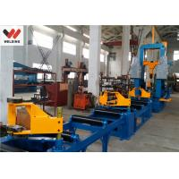 Quality Auto Combination Machine H Beam Welding Line With Assembly / Welding And Straightening wholesale